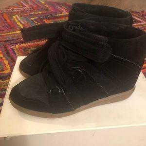 Isabel Marant Bluebel Hidden Wedge Sneakers